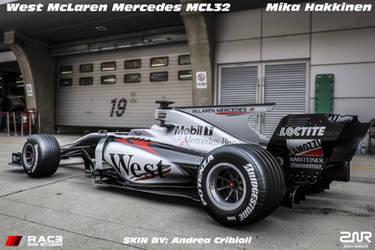 West McLaren Mercedes MCL32 - Mika Hakkinen - by nancorocks