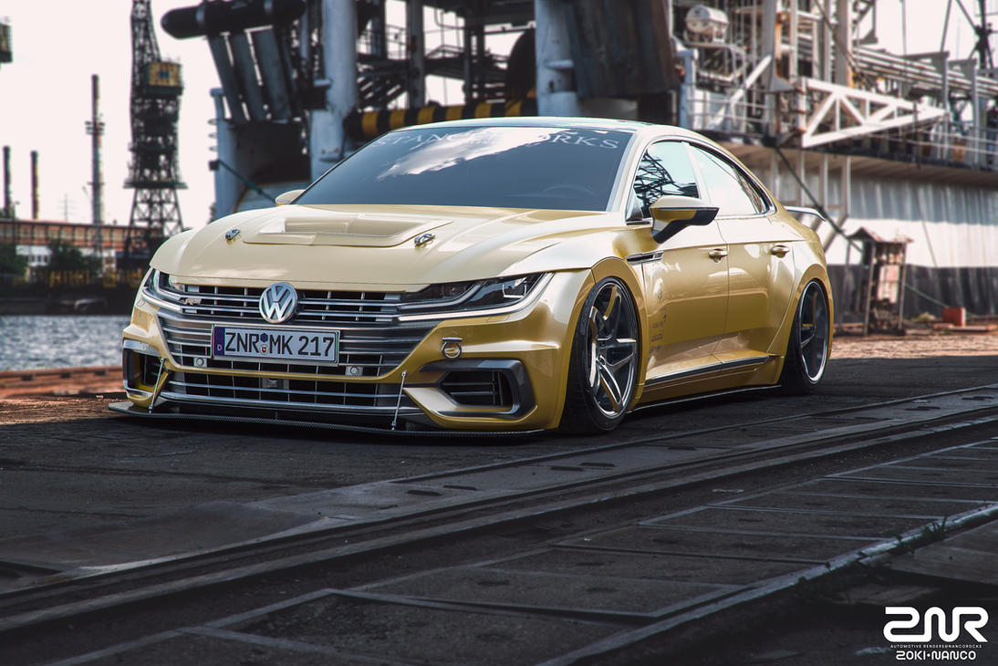 Vw Arteon Stance >> Volkswagen Arteon R-Line - custom - by nancorocks on DeviantArt