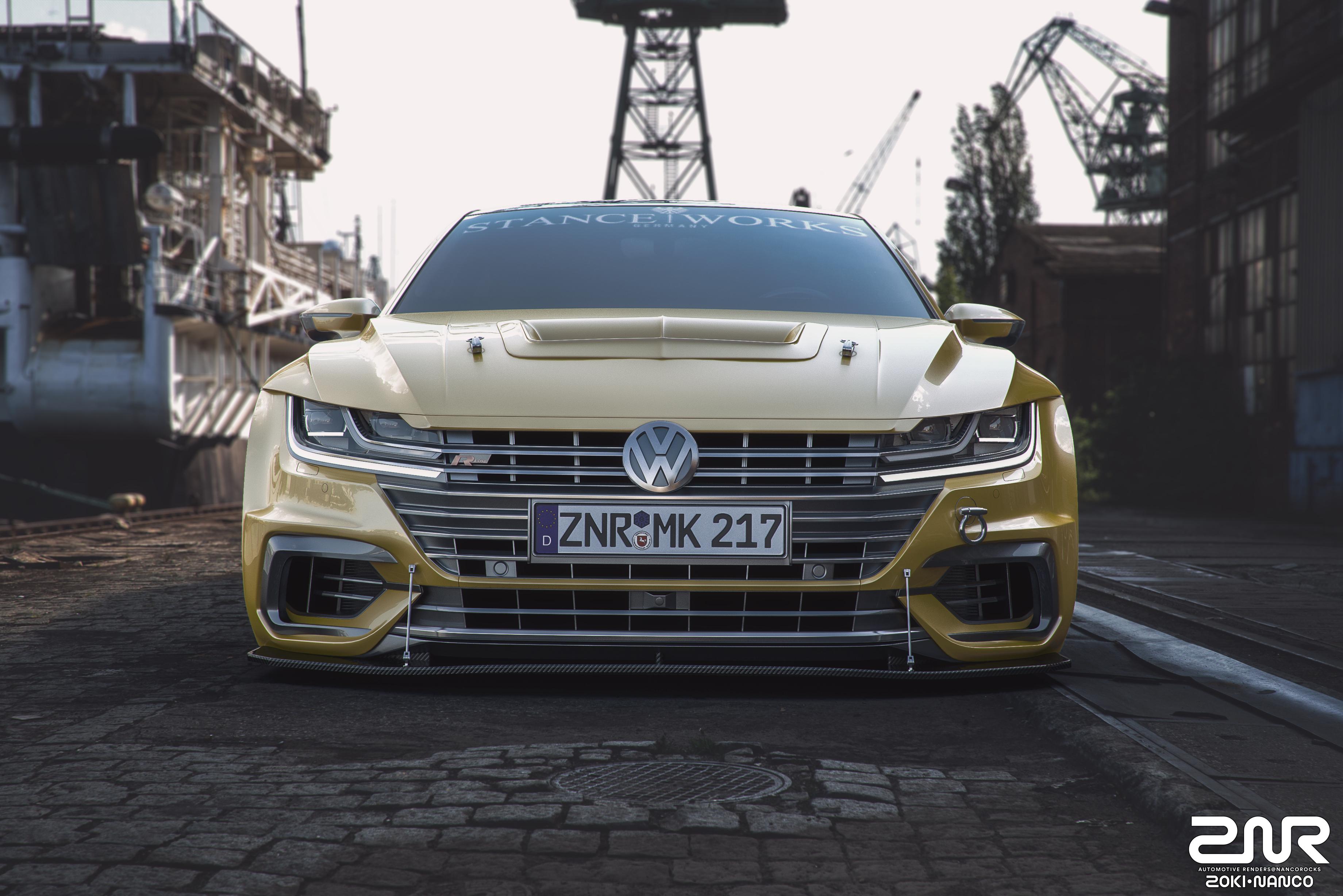 VW Arteon Usa >> Volkswagen Arteon R-Line - custom - by nancorocks on DeviantArt