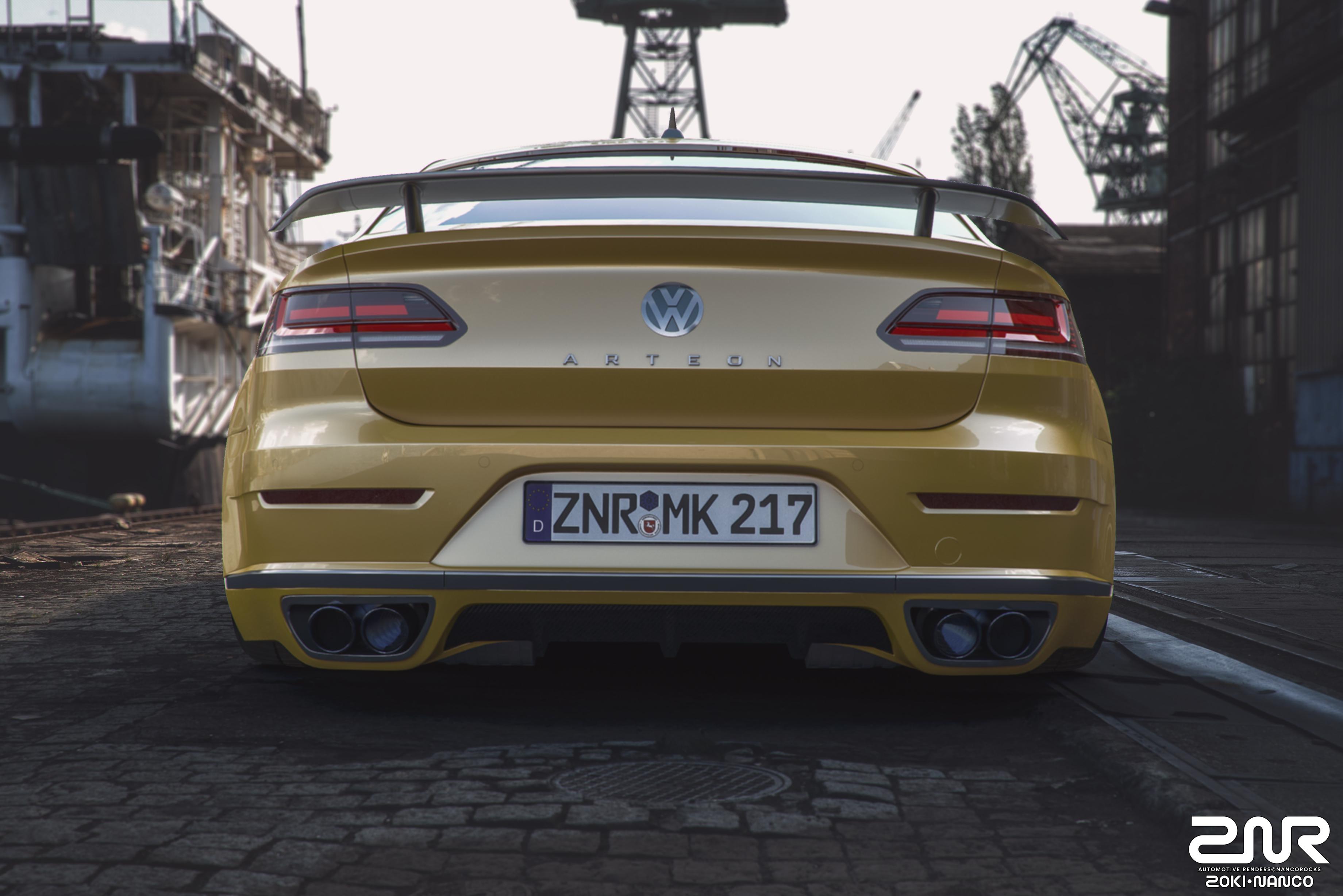 Vw Arteon Stance >> Volkswagen Arteon R-Line - custom - by nancorocks on DeviantArt