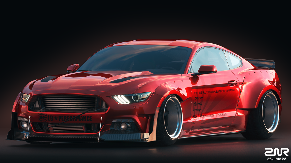 Ford Mustang Liberty Walk By Nancorocks On Deviantart
