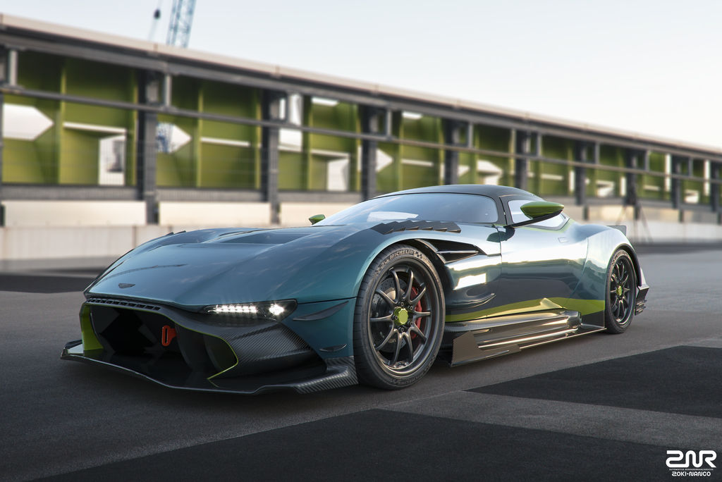Aston Martin Vulcan By Nancorocks On Deviantart