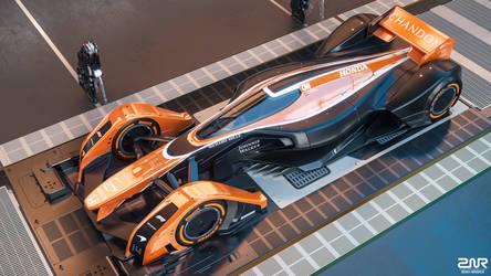 McLaren MP4-X (MCL32 livery) by nancorocks