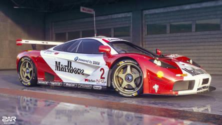 McLaren F1 GTR by nancorocks