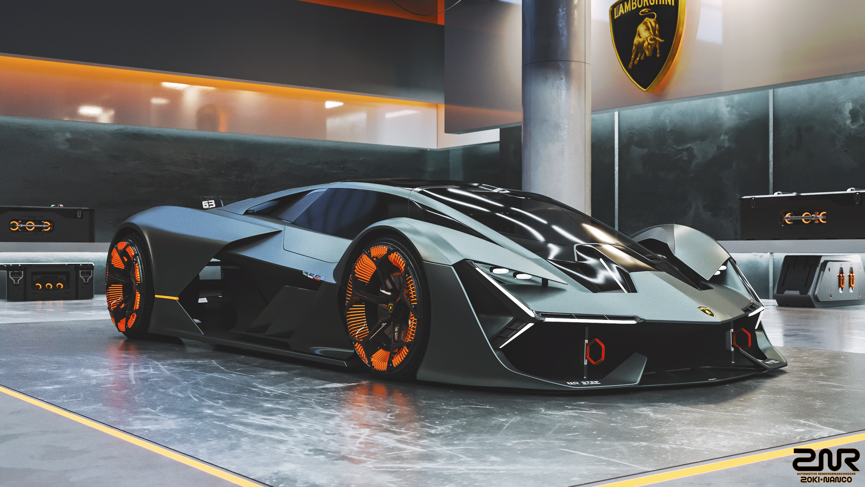 Lamborghini Terzo Millennio By Nancorocks On Deviantart