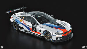 BMW M8 GTE (studio)