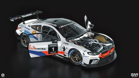 BMW M8 GTE (studio)