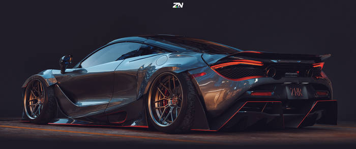 Mclaren 720S custom widebody