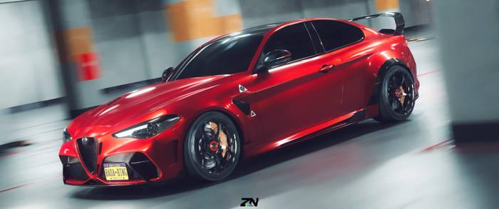 Alfa Romeo Giulia GTAm coupe