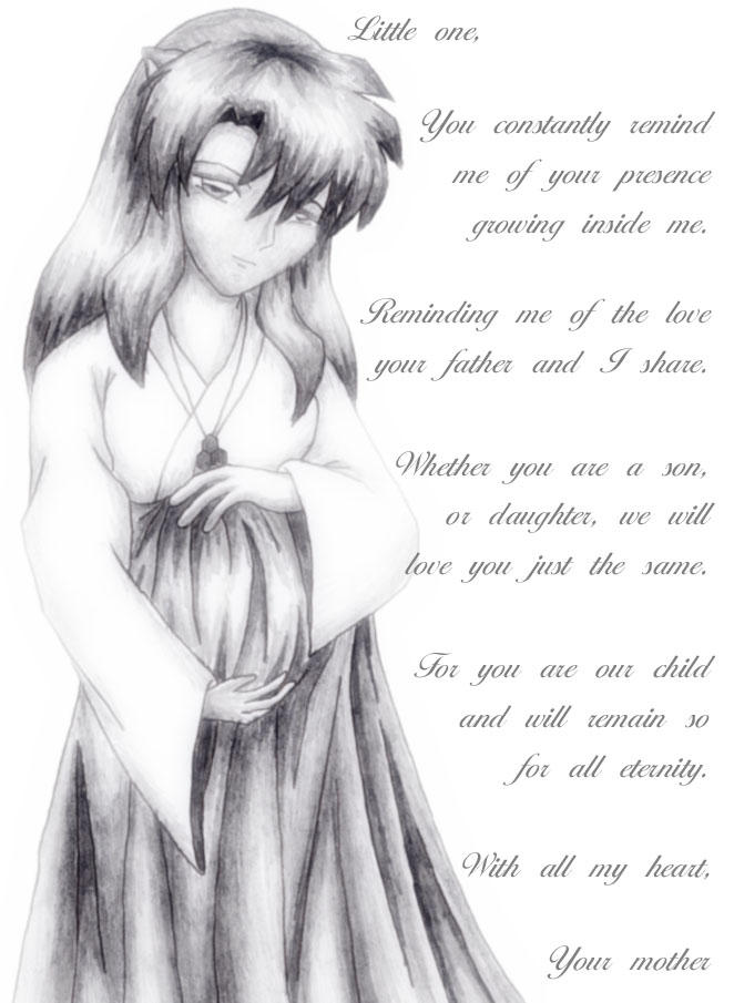A Letter To My Child By Aishiteru1984 On Deviantart  Letter From A