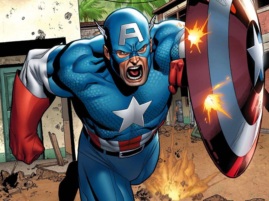 Captain America Serves Death Battle Justice By Deathbattledino On