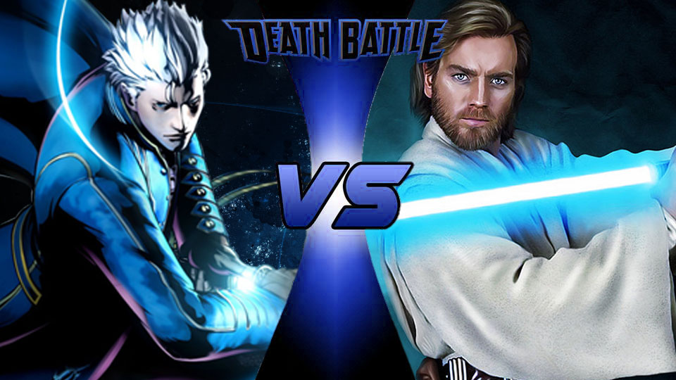 Vergil Vs Obi Wan by DeathBattleDino