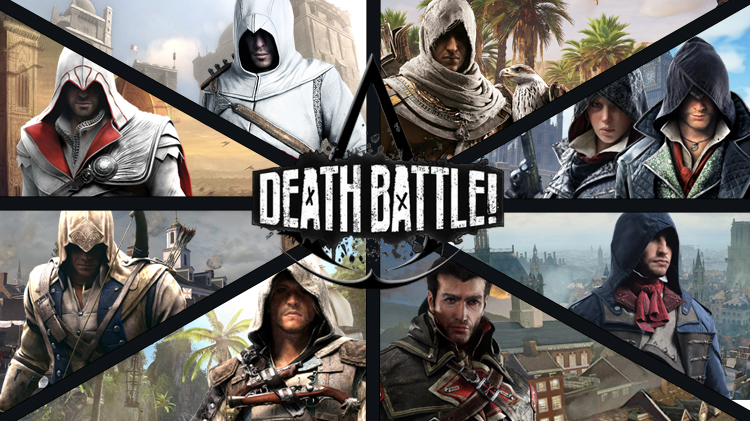 Assassin S Creed Protagonist Battle Royale By Deathbattledino On