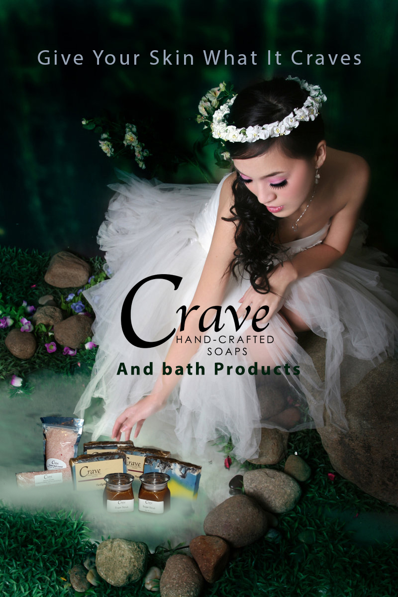 Crave Hand crafted Soaps Advertisment by aresgirl34