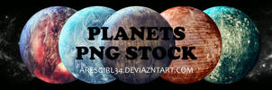 Planets PNGs