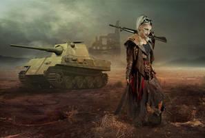 Tank Girl by aresgirl34