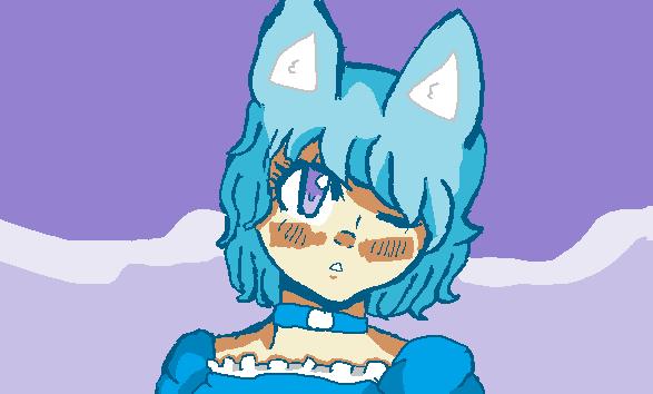 Cat girl by xxdarkelsaxx
