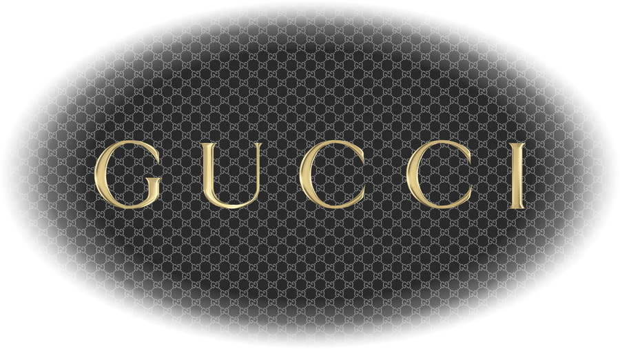 Gucci Logo Transparent Gucci Logo And Pattern Png by