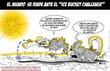 DE CORAZON FRIO EL ICEBUCKETCHALLENGE