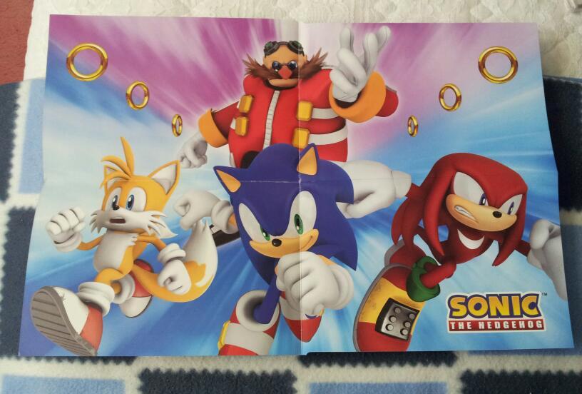 Sonic Poster Birthday Card Inside By Blue Sonikku On Deviantart
