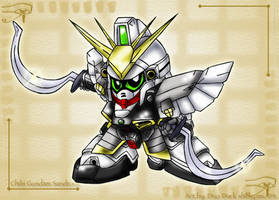 Chibi Gundam Sandrock by Blue-Sonikku