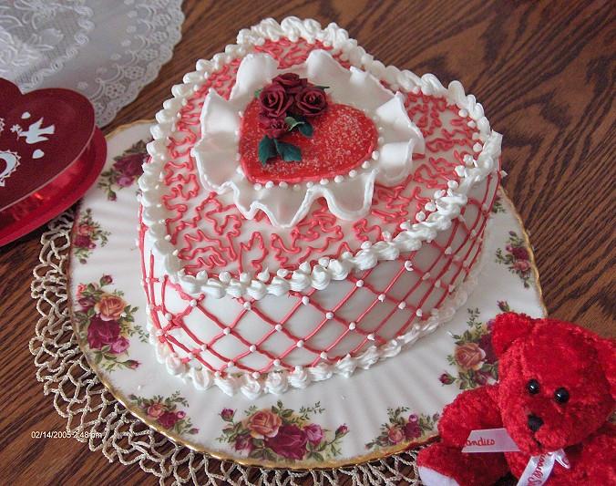 Valentines Cake by Blue-Sonikku