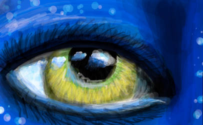 Avatar eye by Booklover198273