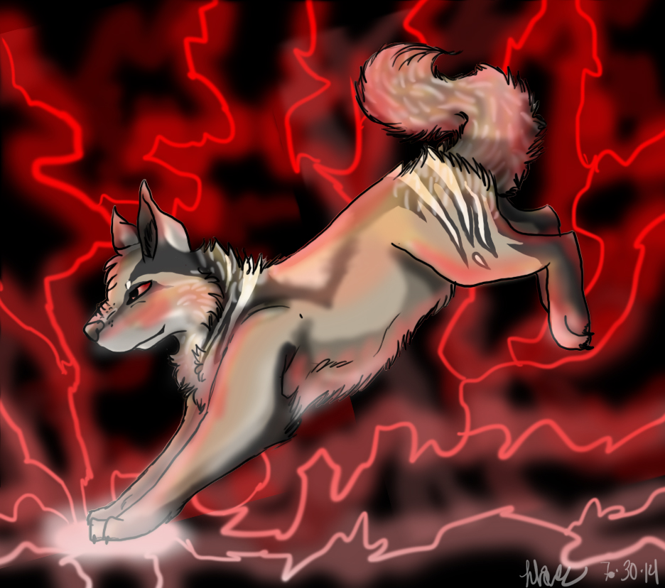 accumulated energy {art trade} by flare-goes-OM