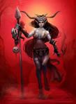 The Hallowmas - Samfaen Woman
