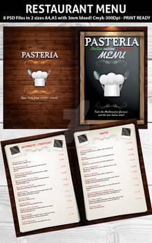 Restaurant Menu PSD Template