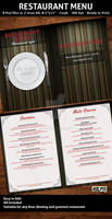 Elegant Restaurant Menu Templa
