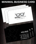 Minimal Creative Business Card