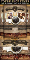 Coffee Shop Magazine ad or Flyer Template