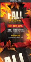 Autumn Fall Flyer Template