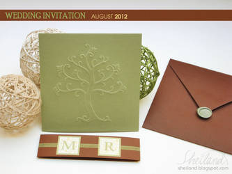 Wedding Invitation for Marta + Roger_02 by Nestery