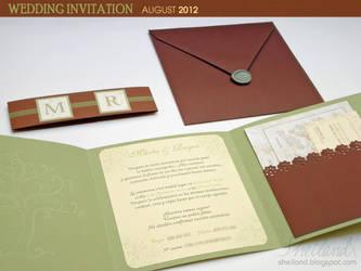 Wedding Invitation for Marta + Roger_03 by Nestery
