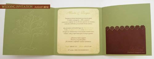Wedding Invitation for Marta + Roger_04 by Nestery