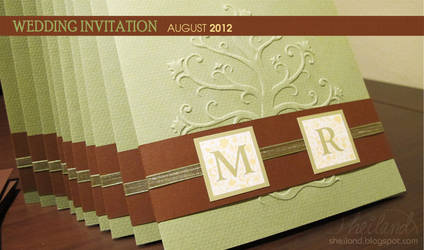 Wedding Invitation for Marta + Roger_05 by Nestery