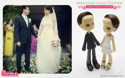 Pinky:st wedding custom! Preview by Nestery