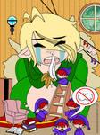 Sneezy Elf, starring Milly the Elf