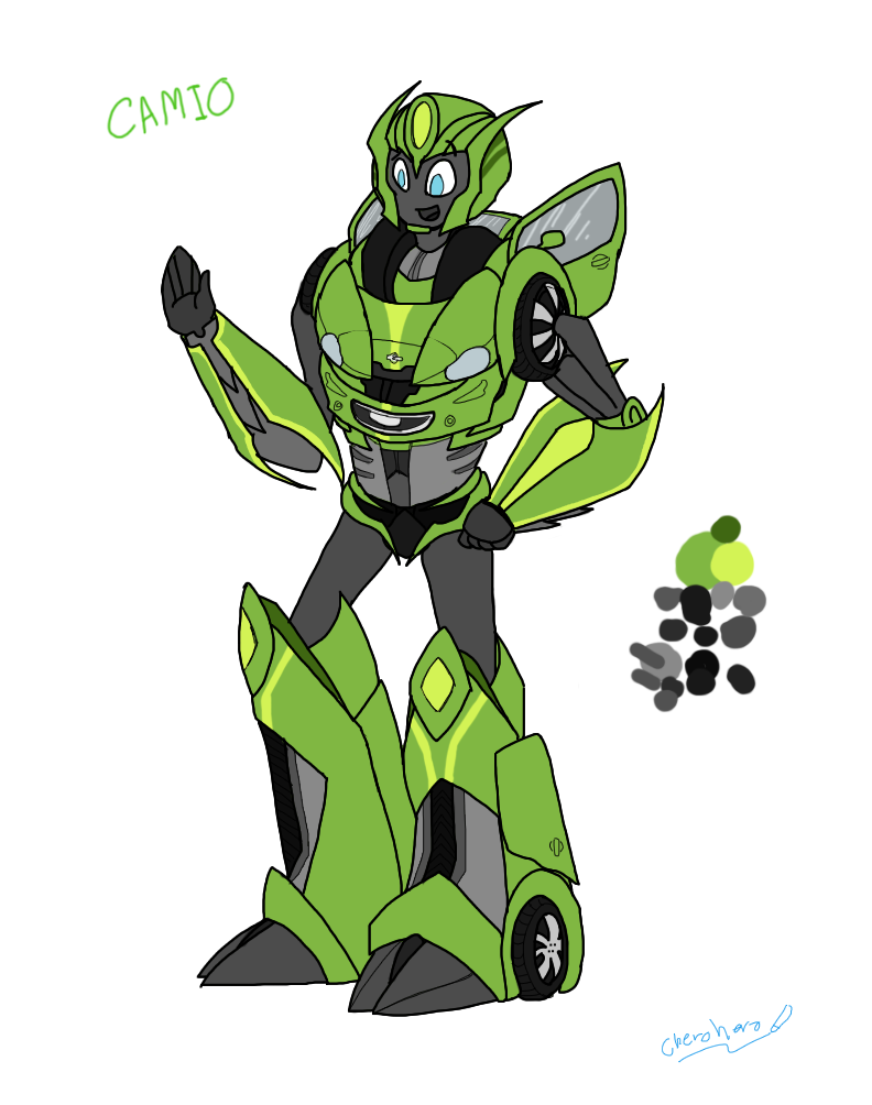 TF OC -  Camio by cherohero
