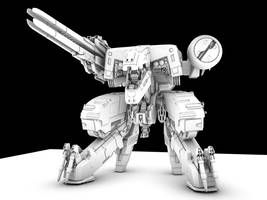 Metal Gear Rex WIP