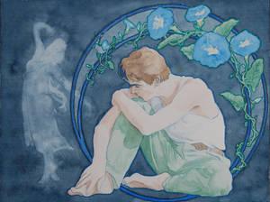 Art Nouveau 2nd Try - Jeremy Irons by Apfelmaeuschen