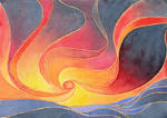 Sky on Fire by Apfelmaeuschen