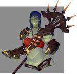 Roe Warrior by kamenkuro