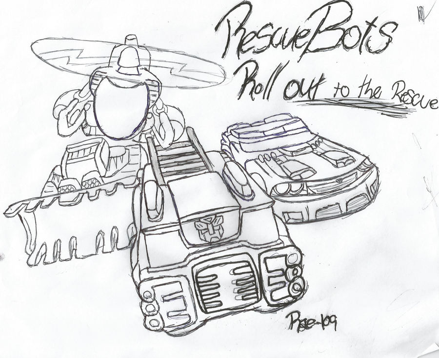 Rescuebots Roll To The Rescue By Bunzlefluff On Deviantart Rescue Bot Coloring Pages