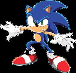 YAY i drew Sonic X!
