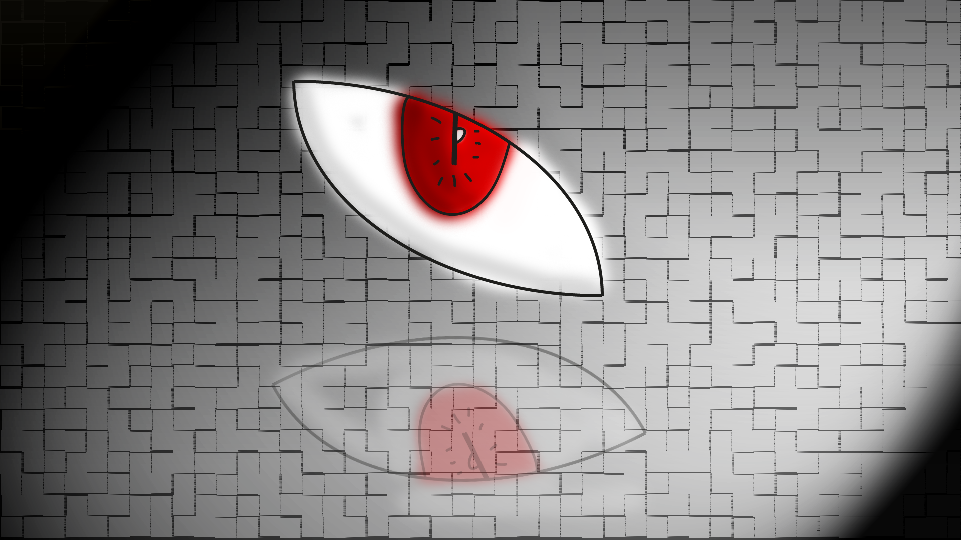 Shadow's Red Eye! by tal9x9