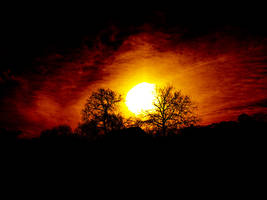 Sunset-Moravia by jablar