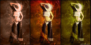 Western trio